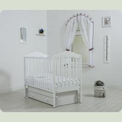 """Кроватка """"Анастасия"""" с универсальным маятниковым механизмом"""