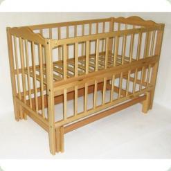 Кроватка детская (Натуральный)