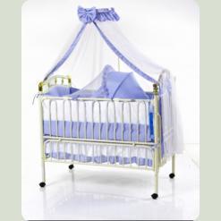 Кроватка детская TLY-612R-RBLU
