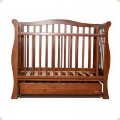 Кроватка-диван VIVA LUX с ящ. (орех)