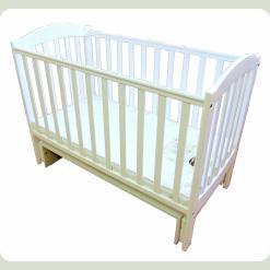 Кроватка для новорожденных 10 (маятник без шухлядки)