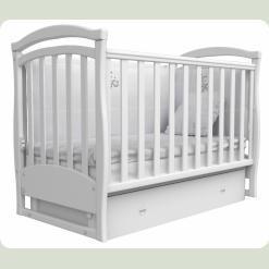 Кроватка для новорожденных 6 (шухлядка+маятник)