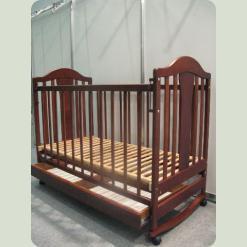 Кроватка Наполеон с ящиком (тонир.)