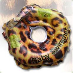 "Круг для купания Baby Swimmer Glamour ""Леопард"""