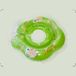 Круг для купания Baby Swimmer с погрем. (салат)