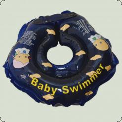 Круг для купания Baby Swimmer (син)