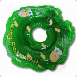 Круг для купания Baby Swimmer (зелен)