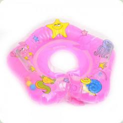 Круг для купания младенцев Bambi MS 0640 Розовый