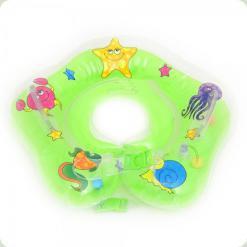 Круг для купания младенцев Bambi MS 0640 Зеленый