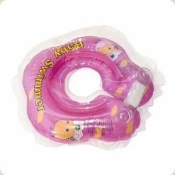 Круг на шею BabySwimmer 0-24м (3-12 кг) Розовый