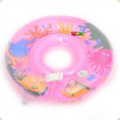 Круг на шею TS-014 (TS004) Розовый