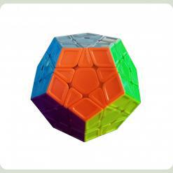 Кубик 0934C-4 QiYi X-Man Megaminx (Sculpture Stickerless) 8см, в кор-ке, 9,5-7,5-13,5см