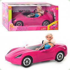 Кукла Defa в машинке (8228)