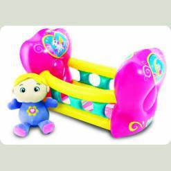 Кукольный набор Play WOW Малышка в колыбели (3150PW)