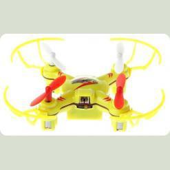 Квадрокоптер нано р/у 2.4Ghz WL Toys V646-A Mini Ufo (желтый)
