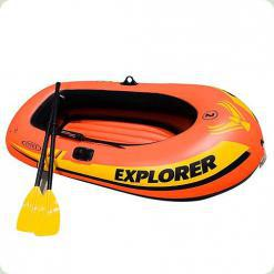 Лодка Intex 58332 с насосом и веслами