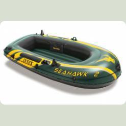 Лодка Intex Seahawk 2 (68346)Лодка Intex Seahawk 2 (68346)