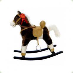 Лошадка M.Mally Mustang (темно-коричневая)
