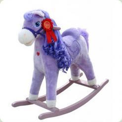 Лошадка M.Mally Princess (фиолетовый)