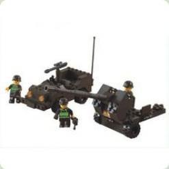 Сухопутные войска. Вездеход и пушка