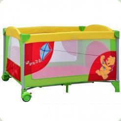 Манеж Bambi Winnie The Pooh A 03-7 Красно-зеленый