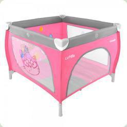 Манеж Carrello Grande CRL-7401 Grey/Pink