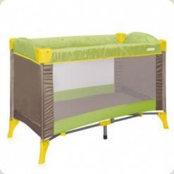 Манеж Just4kids ARENA 1L (green beige puppies)