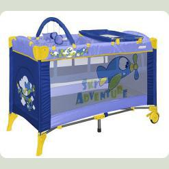 Манеж Just4kids ARENA 2L+ (blue sky adventure)