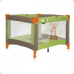 Манеж Just4kids PLAY (green beige giraffes)