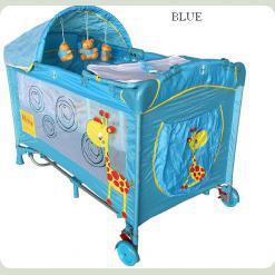 Детская манеж-кровать Arti Deluxe Plus