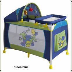 Манеж Lorelli DREAMER 2L+ (dinos blue)