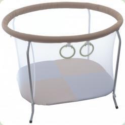 Манеж OMMI Euro Mini Бежевый