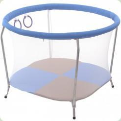 Манеж OMMI Euro Mini Голубой