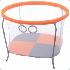 Манеж OMMI Euro Mini Оранжевый