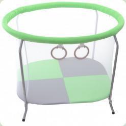 Манеж OMMI Euro Mini Зеленый