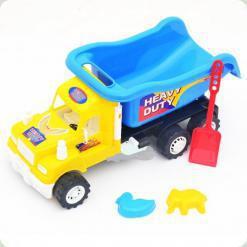 Машина Kinderway Heavy Duty (15-001-110) Желтая кабина