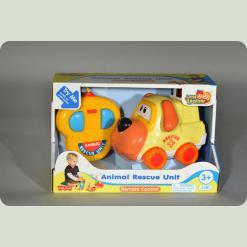 Машина на дистанционном управлении Hap-p-Kid Little Learner Животные (3955 T)