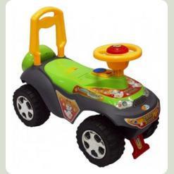 Машинка-каталка Alexis-Babymix 7600 (green)