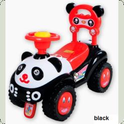 Машинка-каталка Alexis-Babymix 7601 (black)