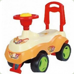 Машинка-каталка Alexis-Babymix 7615 (red)