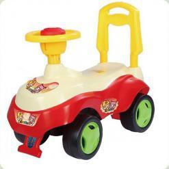 Машинка-каталка Alexis-Babymix 7615 (yellow)