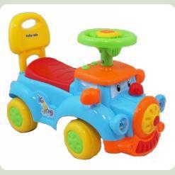 Машинка-каталка Alexis-Babymix HZ-554 (blue)