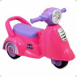 Машинка-каталка Alexis-Babymix HZ-605 (pink)