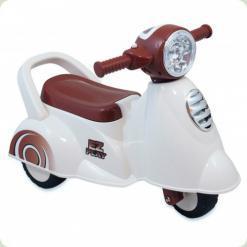Машинка-каталка Alexis-Babymix HZ-605 (white)