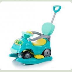 Машинка-каталка Alexis-Babymix RT017-1 (blue)