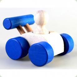 Машинка Малыш Синяя