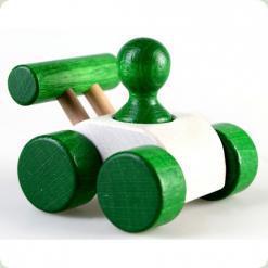 Машинка Малыш Зеленая