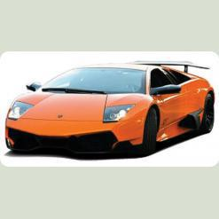 Машинка микро р/у 1:43 лиценз. Lamborghini LP560 (оранжевый)