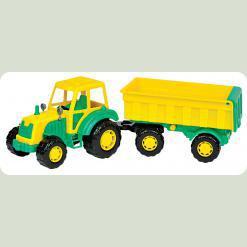 Мастер, трактор с прицепом №1