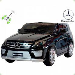 Mercedes ML63 AMG 12V, черный, Крашеный + Лакированный